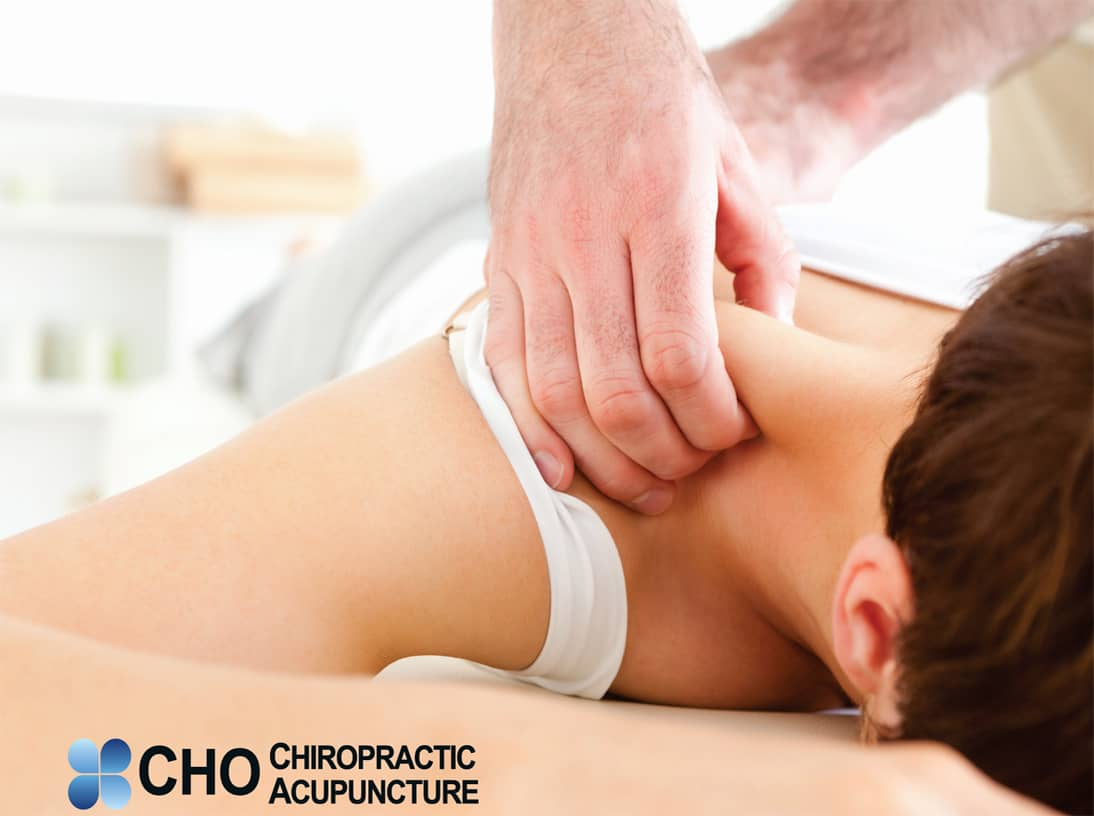 Cho Chiropractic's deep-tissue massage therapy maximizes health by restoring the normal balance of the body and enhancing blood circulation, muscle relaxation, and range of motion.
